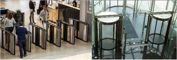 Boon Edam's entrance security solutions
