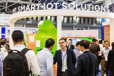 [2018.03.21-22] SingEx - IOT Asia - Day 1 2