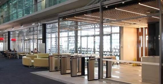Boon Edam Speedlane Swing security entrances