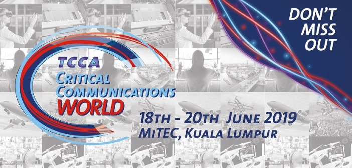 Malaysia's Sapura Group announced as Host Operator for world-leading CCW critical communications event