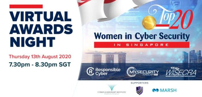 Top Women in Cyber Security to be recognised – 20 Winners to be announced at Virtual Awards Ceremony